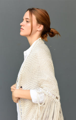 Tucuman Natural Shawl