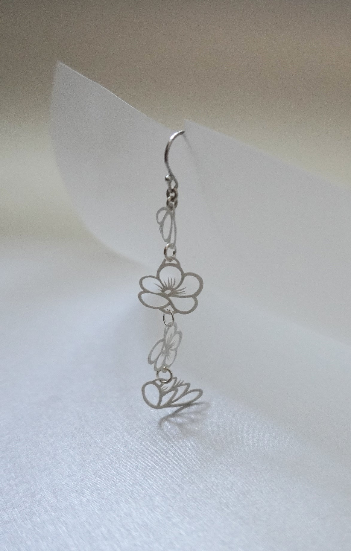 Plum Blossom Chain Dangles