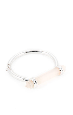 Cotton candy silver bracelet