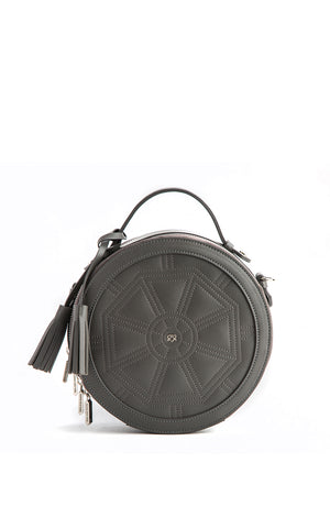 Rotunda Black Shoulder Bag