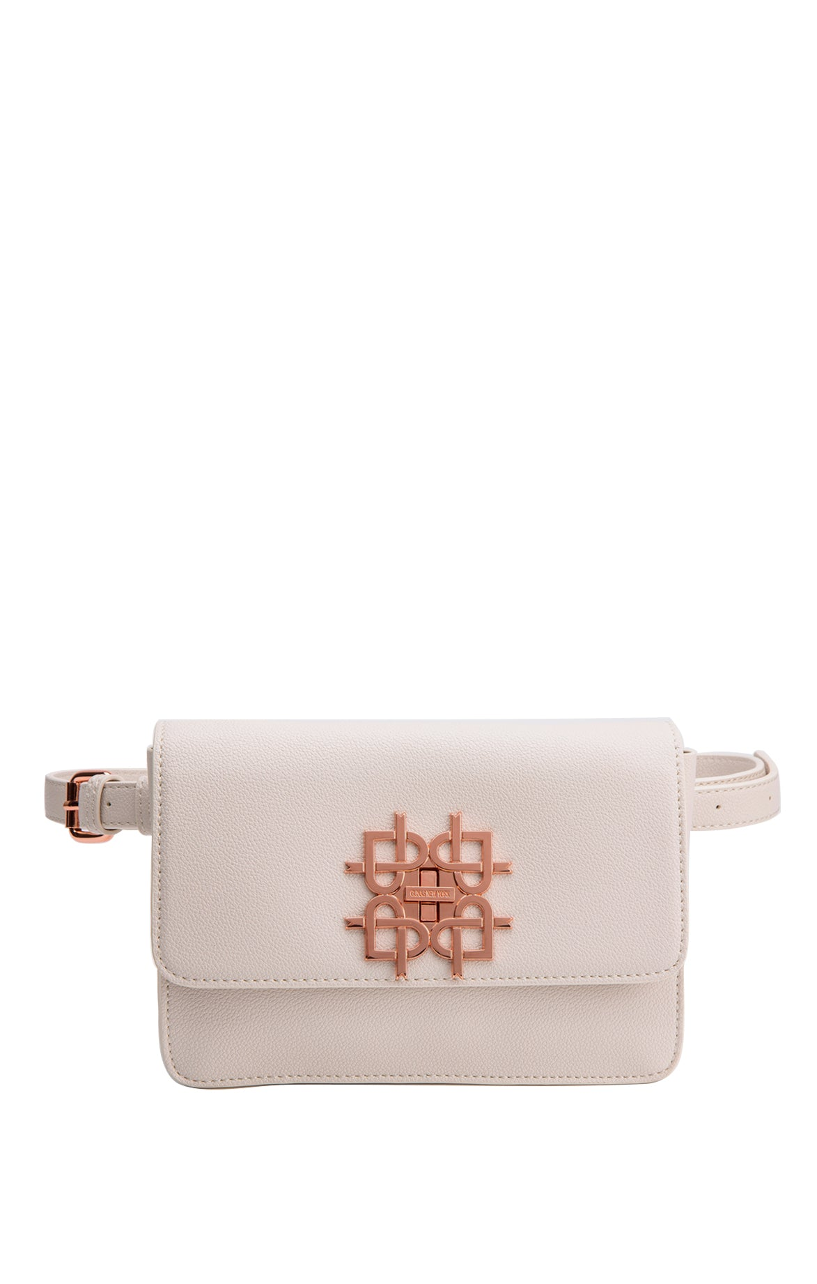 Maisie White Belt Bag