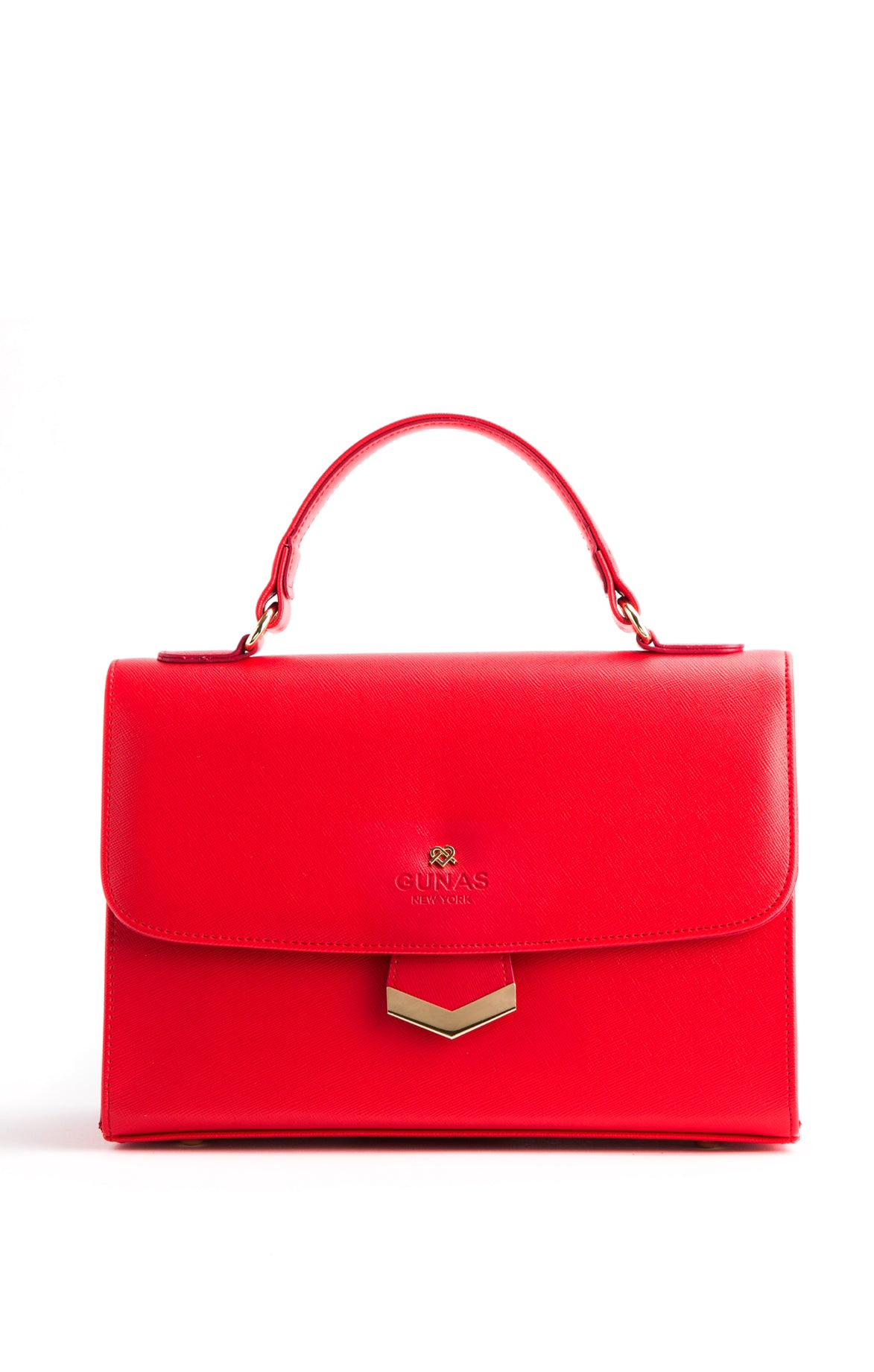 Flamingo Red Shoulder Bag