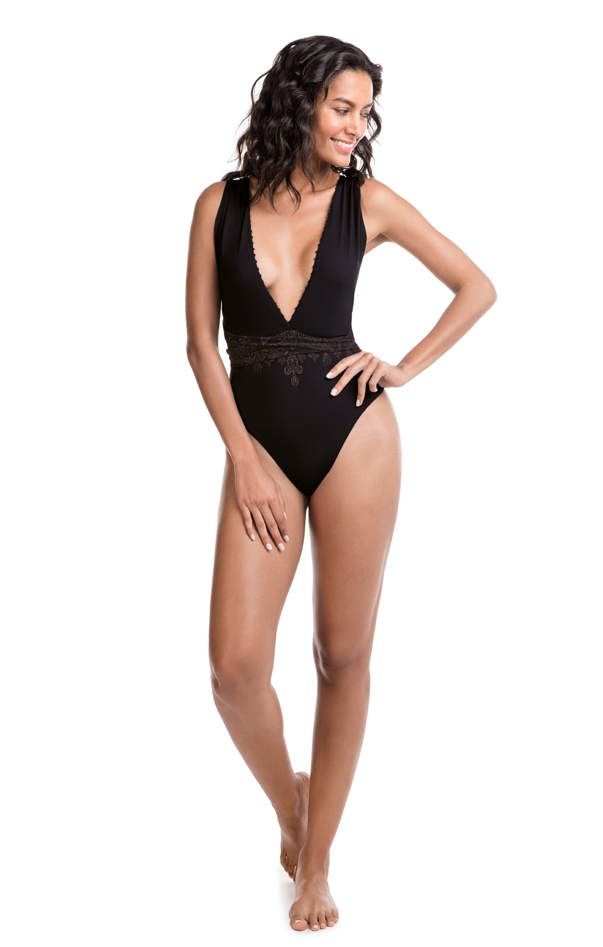 Tivoli Damasco One Piece Swimsuit