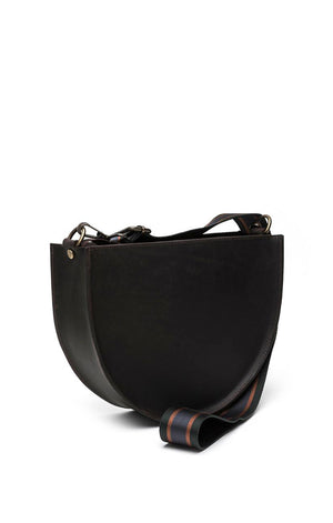 Medium Crescent Leather bag