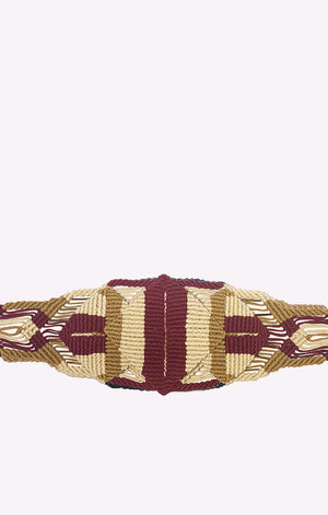Aru Belt Burgundy