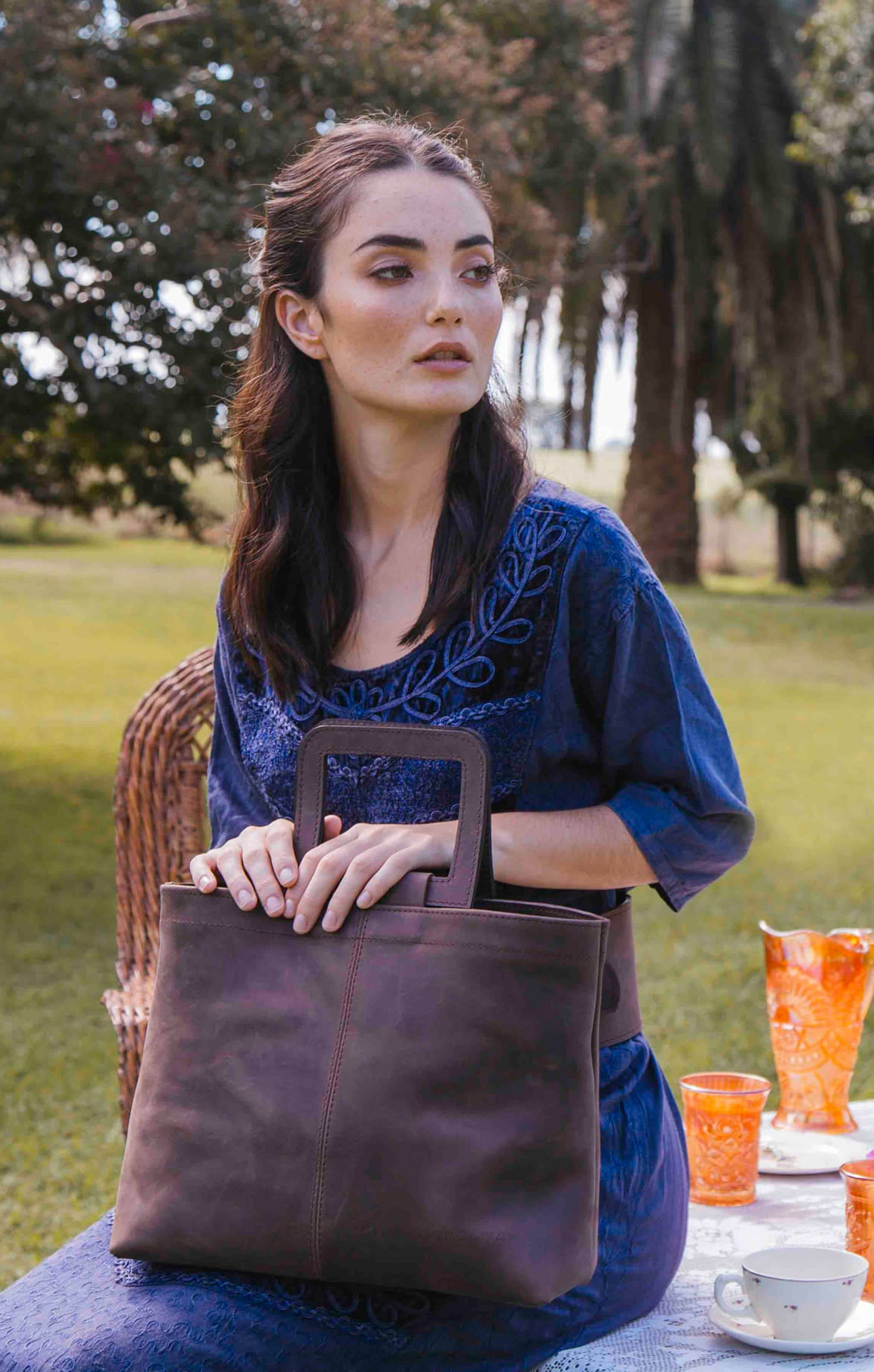 Estribo Leather Tote