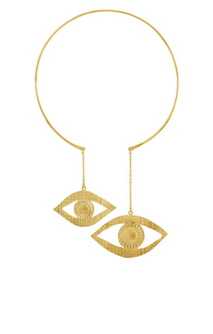 Eye Sea You Gold Necklace