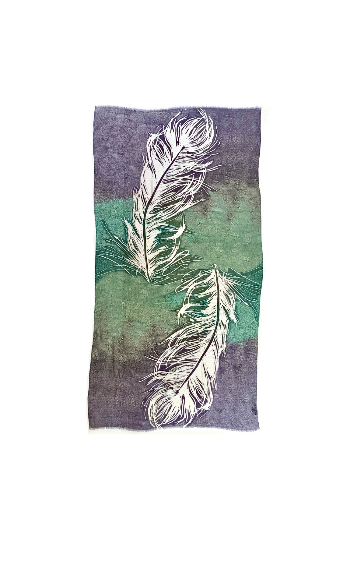 Feather Cashmere Wrap