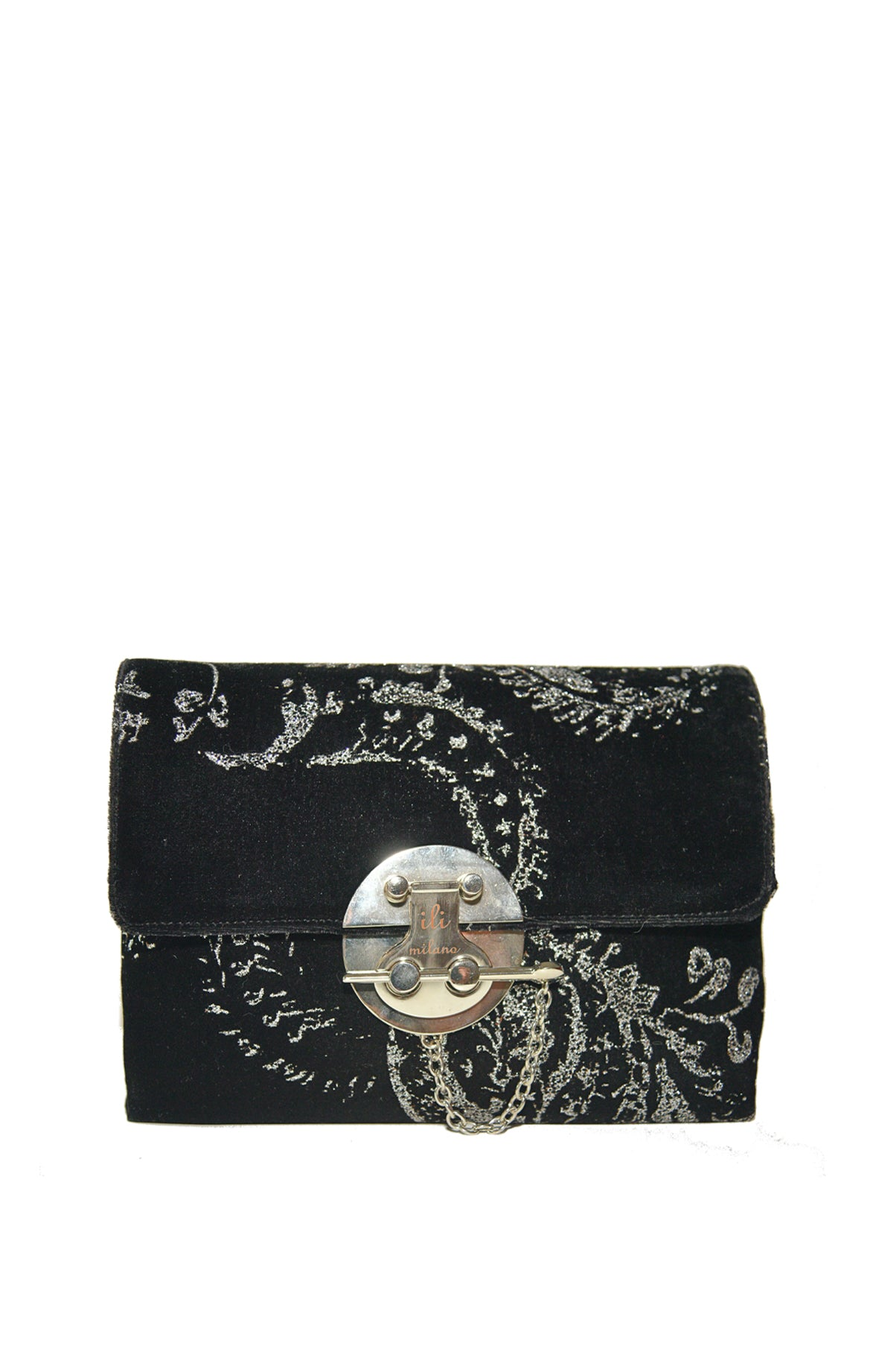 Black & Silver Key Medium Bag