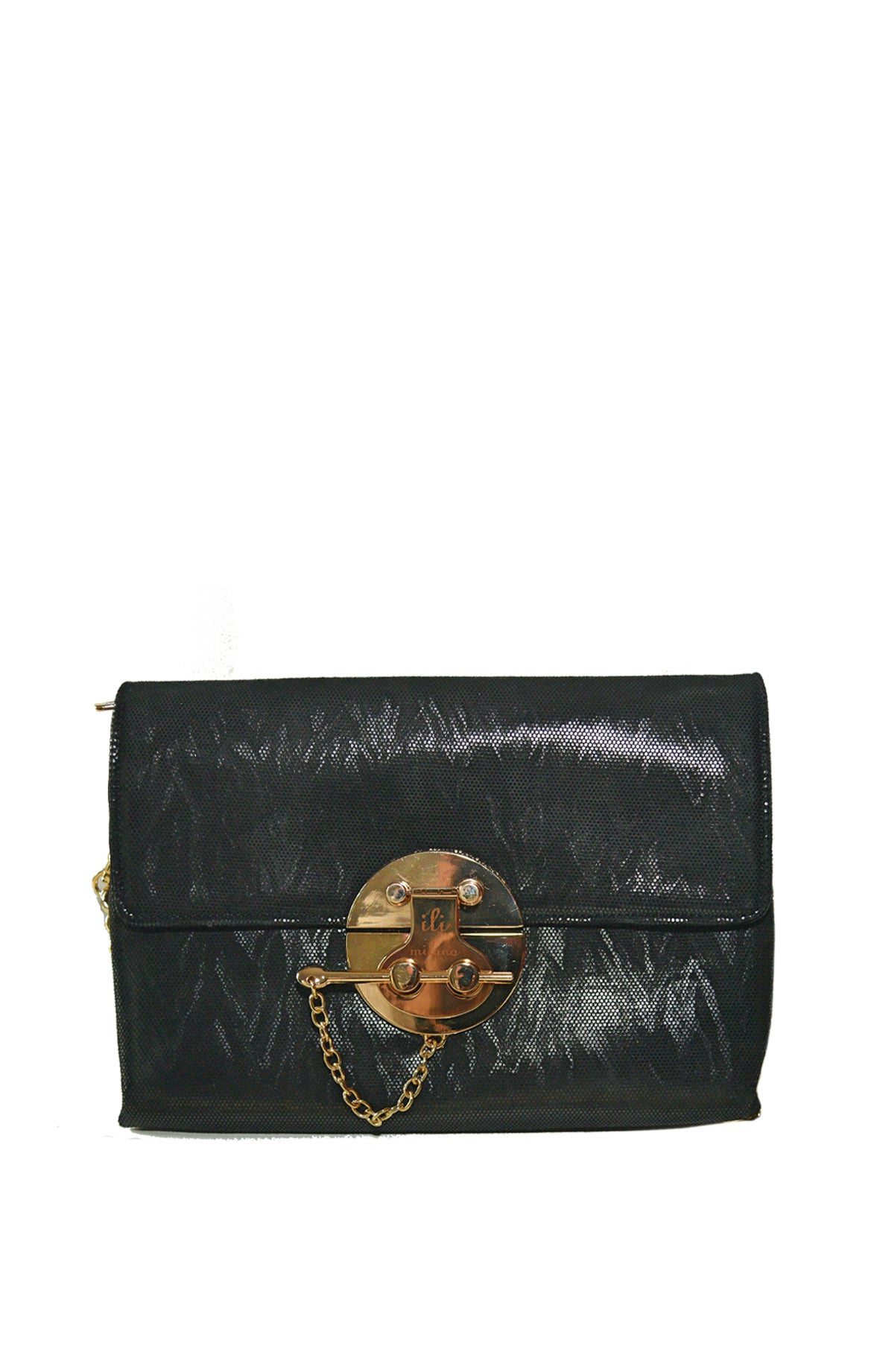 Black & Gold Key Medium Bag