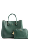 Jane Dark Green Satchel