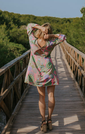 Holly Short Tunic Pink