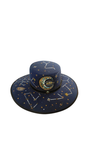 Under Water Eclipse Felt Hat