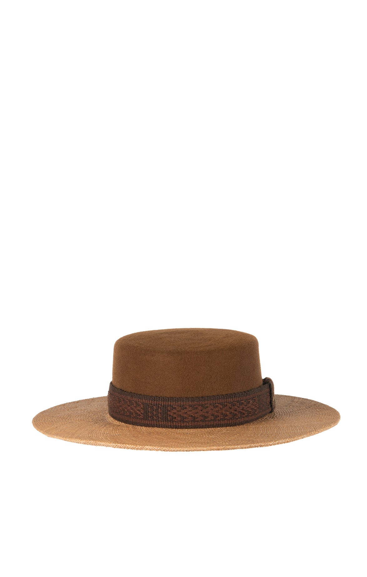 Mother Earth Felt & Straw Hat