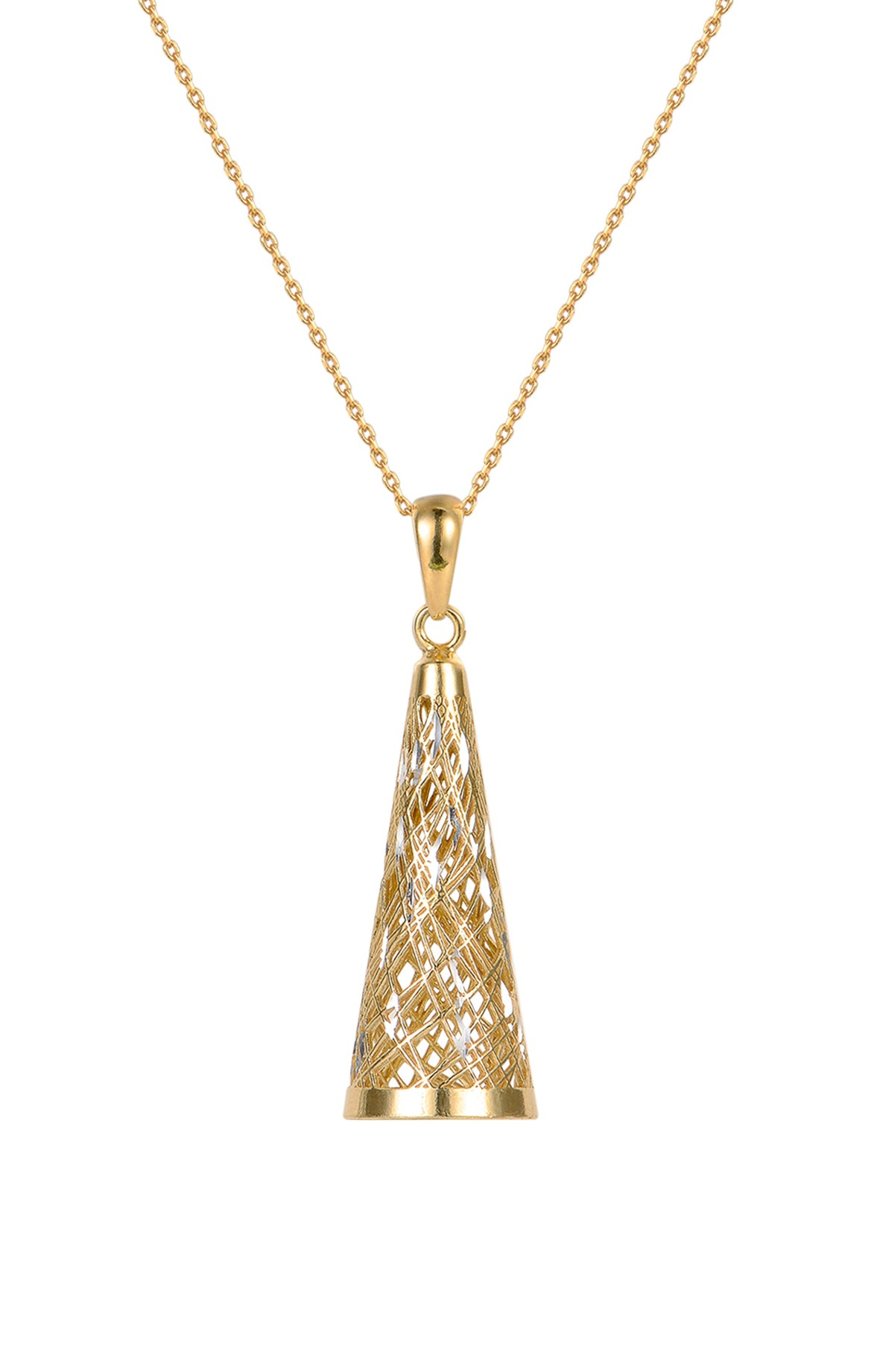 Structure of the Universe Gold Necklace