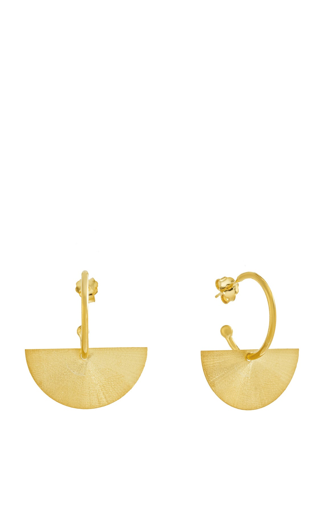 Dessert Sand Gold Earrings IV