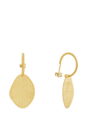 Dessert Sand Gold Earrings III
