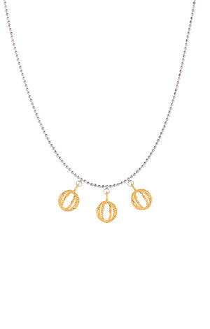 Dazzling Universe Gold Necklace