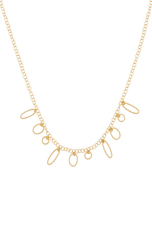 Dazzling Universe Gold Necklace II