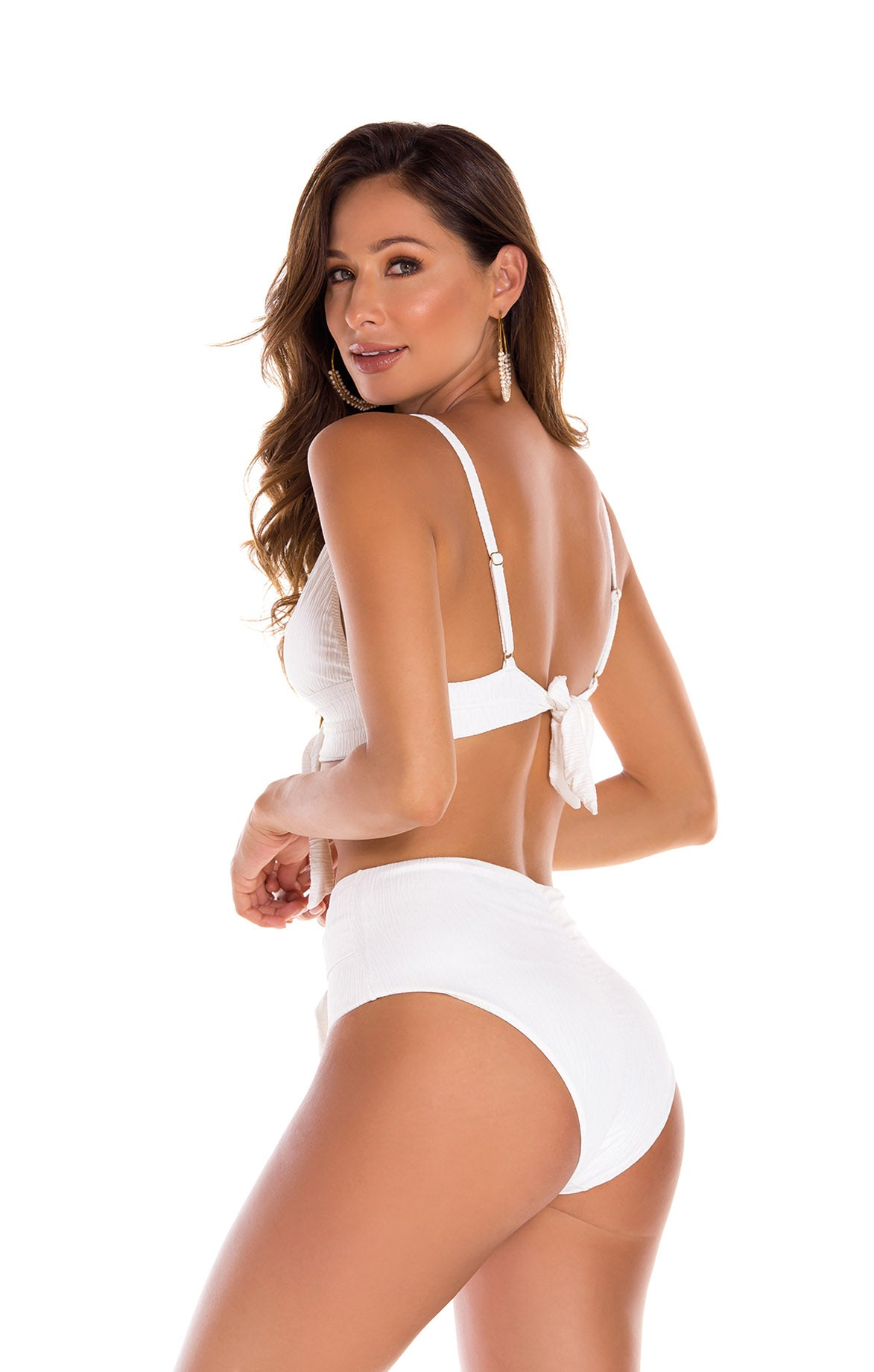 Florencia White High Bottom