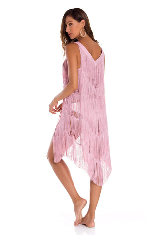 Arezzo Vest Cover Up Pink