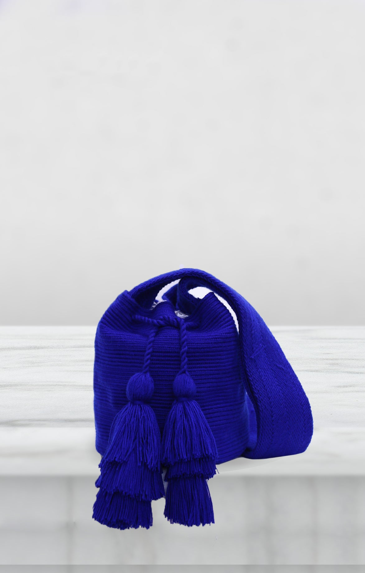 Blue Mini Wayuu Bag