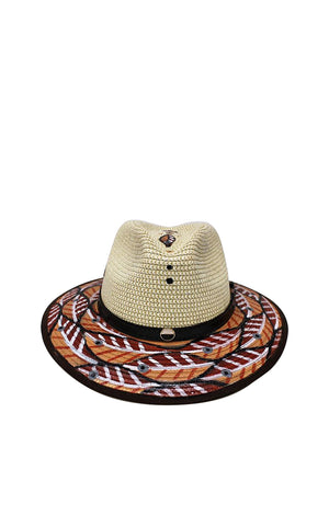 Nude Nature Fedora Hat