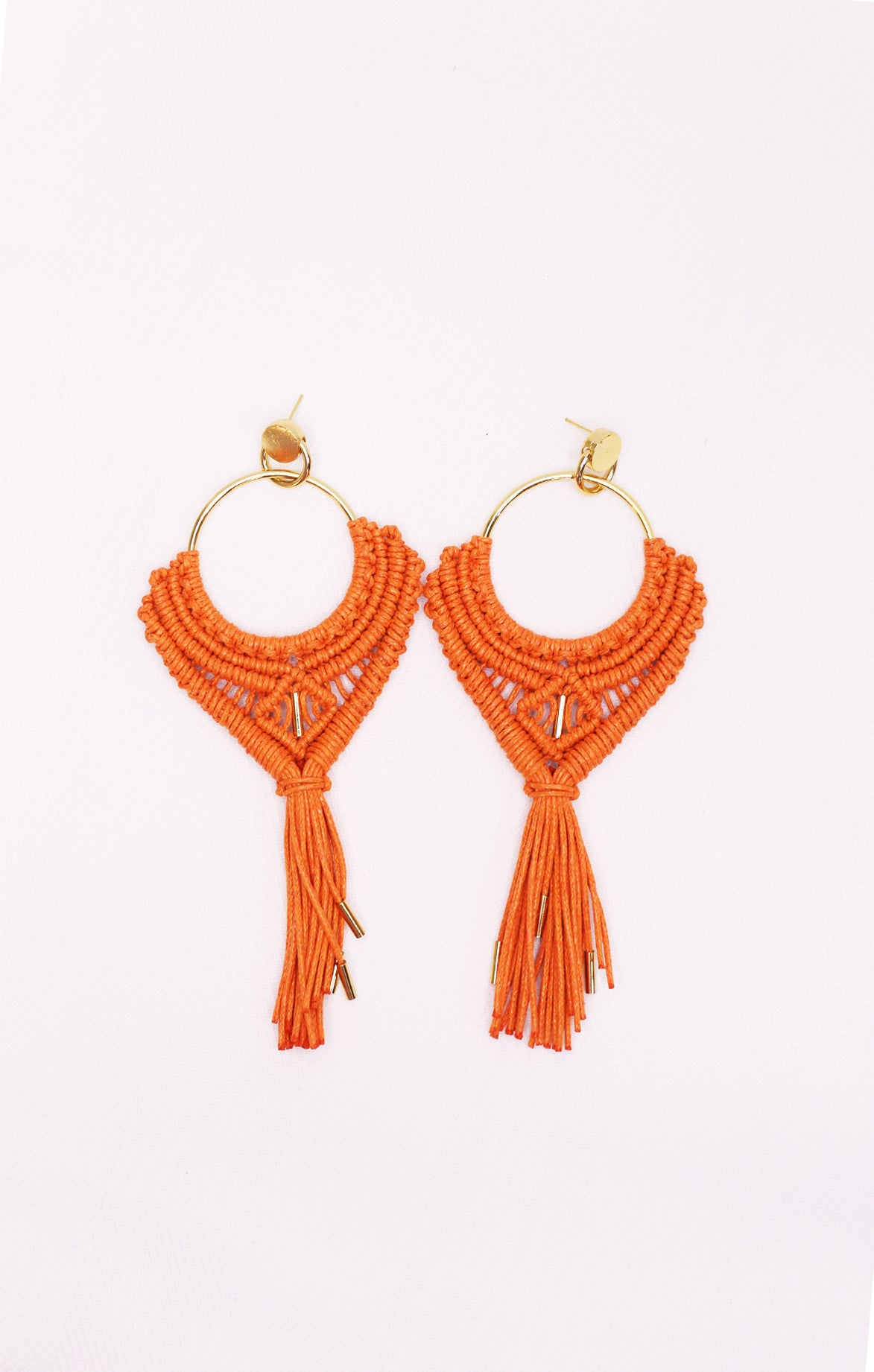Turia Earring Orange