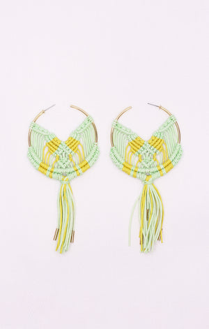 Cru Earrings Mint