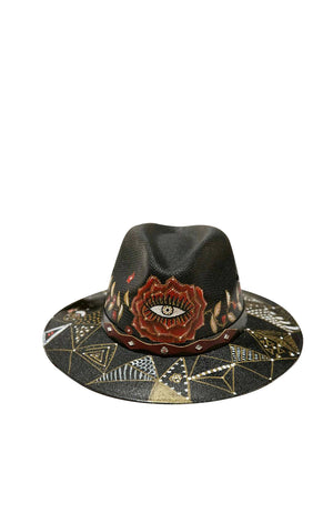 Rose Soul Fedora Hat
