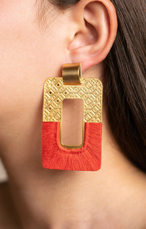 Tatuan Terracotta Earrings