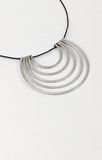 The Minimalist 5 Silver Necklace