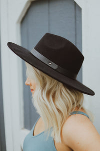 Feelin' Good Wide-Brim Fedora