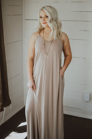 Make You Mine Maxi - Taupe