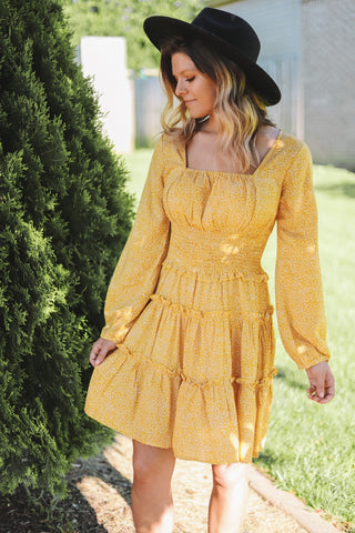 Sunny Days Ruffled Dress