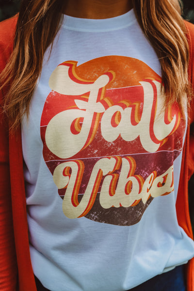"""Fall Vibes"" Graphic Tee"