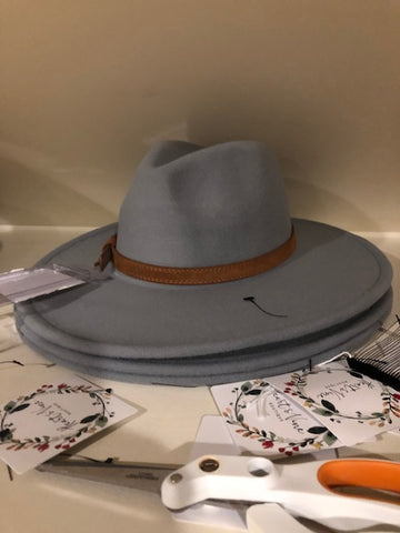 grey new fedora
