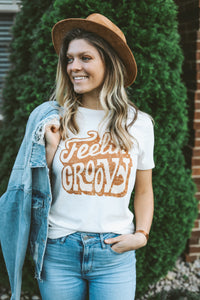 """Feelin' Groovy"" Graphic Tee"