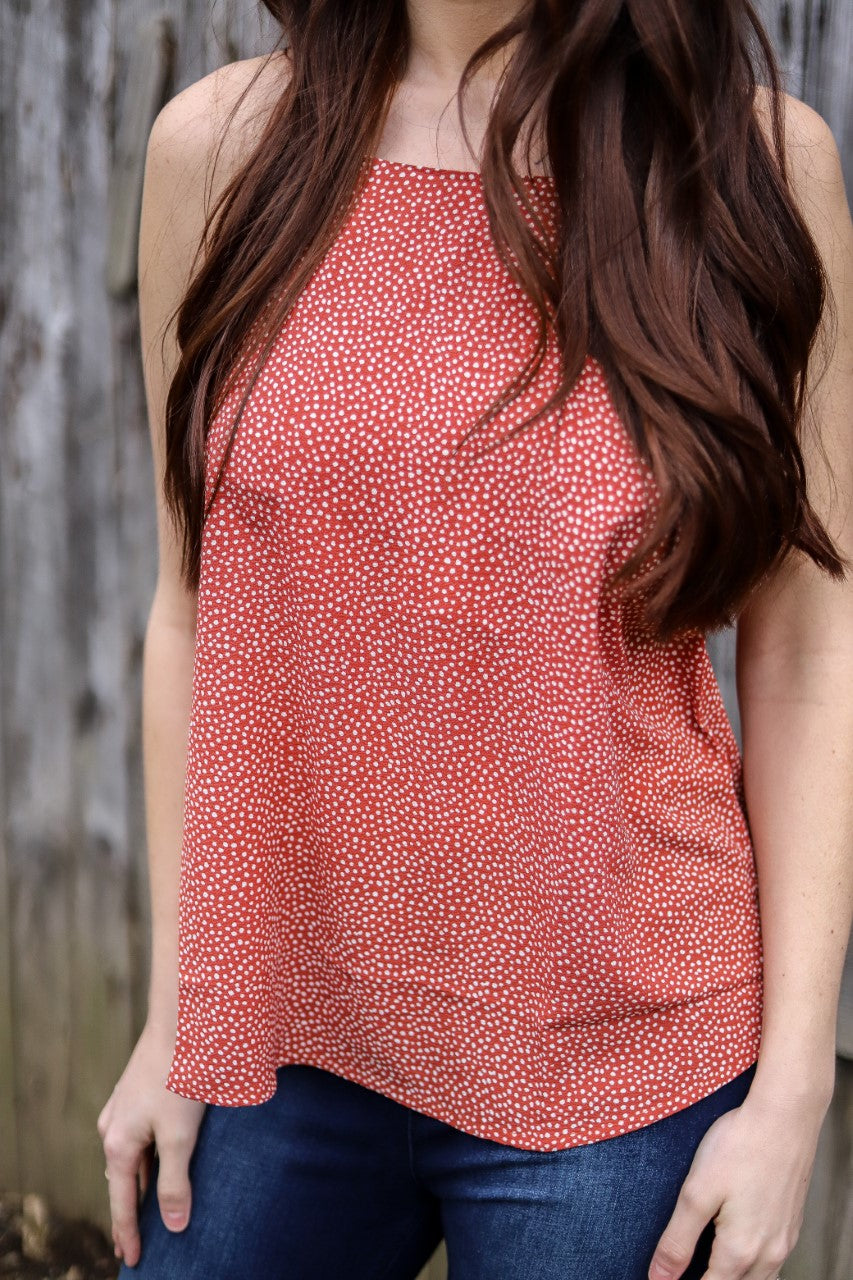 Can't Go Wrong Dotted Tank