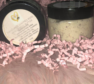 Rose Vanilla Strawberry  Whipped Body Butter