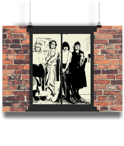I Want to Break Free Full Queen Band Poster Print.