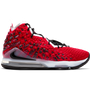 Nike LeBron 17 Basketball Shoe 'Red/Black/White'