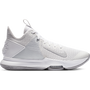 LeBron Witness 4 (Team) Basketball Shoe 'White/Grey'