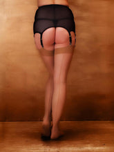 Load image into Gallery viewer, What Katie Did Retro Metallic Seamed Stockings