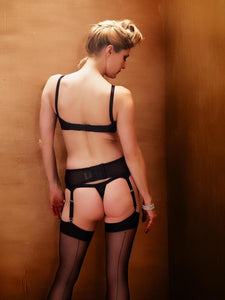 What Katie Did Maitresse Narrow Suspender Belt