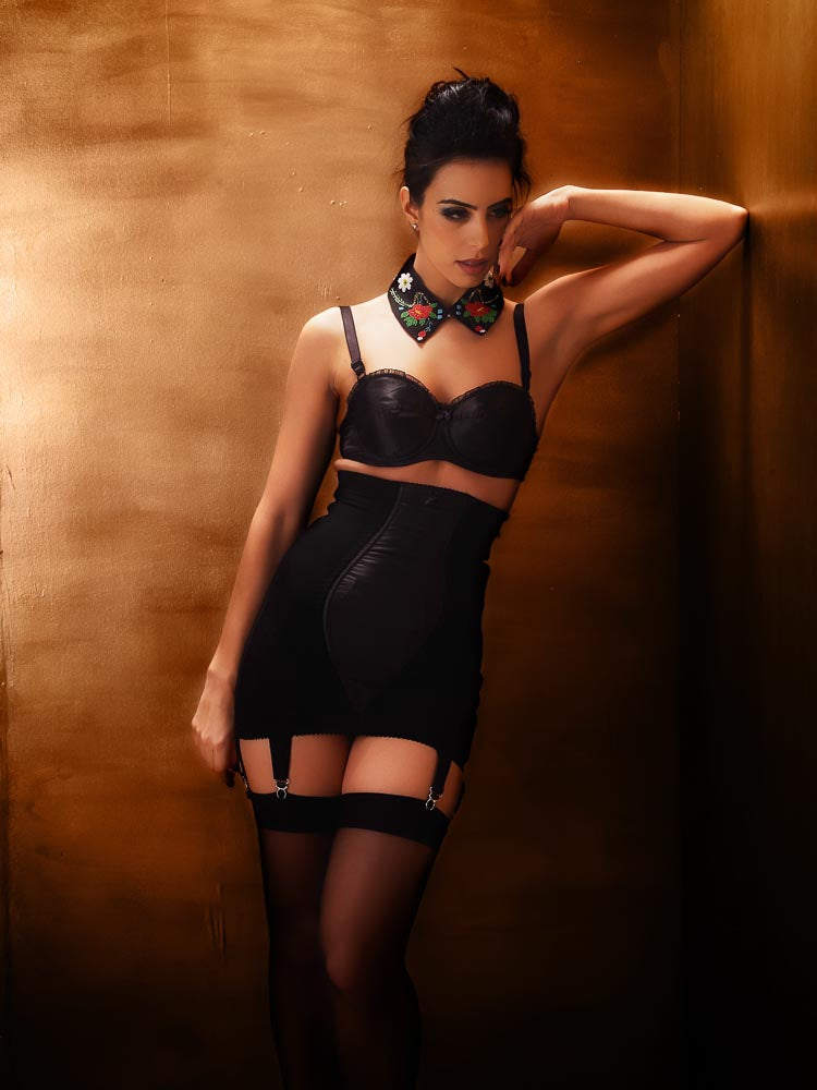 What Katie Did Glamour Zip Underbust Girdle