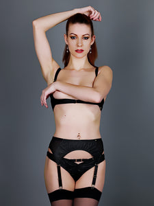 Something Wicked Montana Leather Suspender