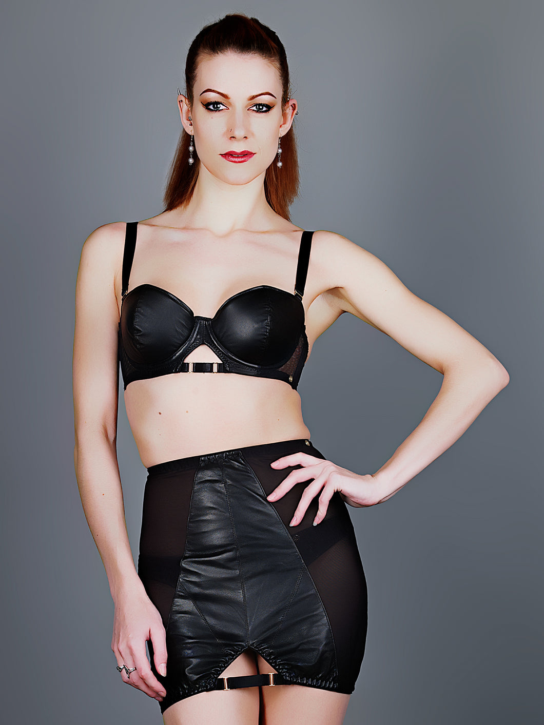 Something Wicked Montana Leather Girdle