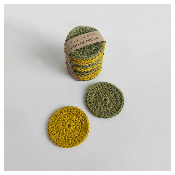 Eco-friendly Reusable Make-up Pads and Face Scrubbies