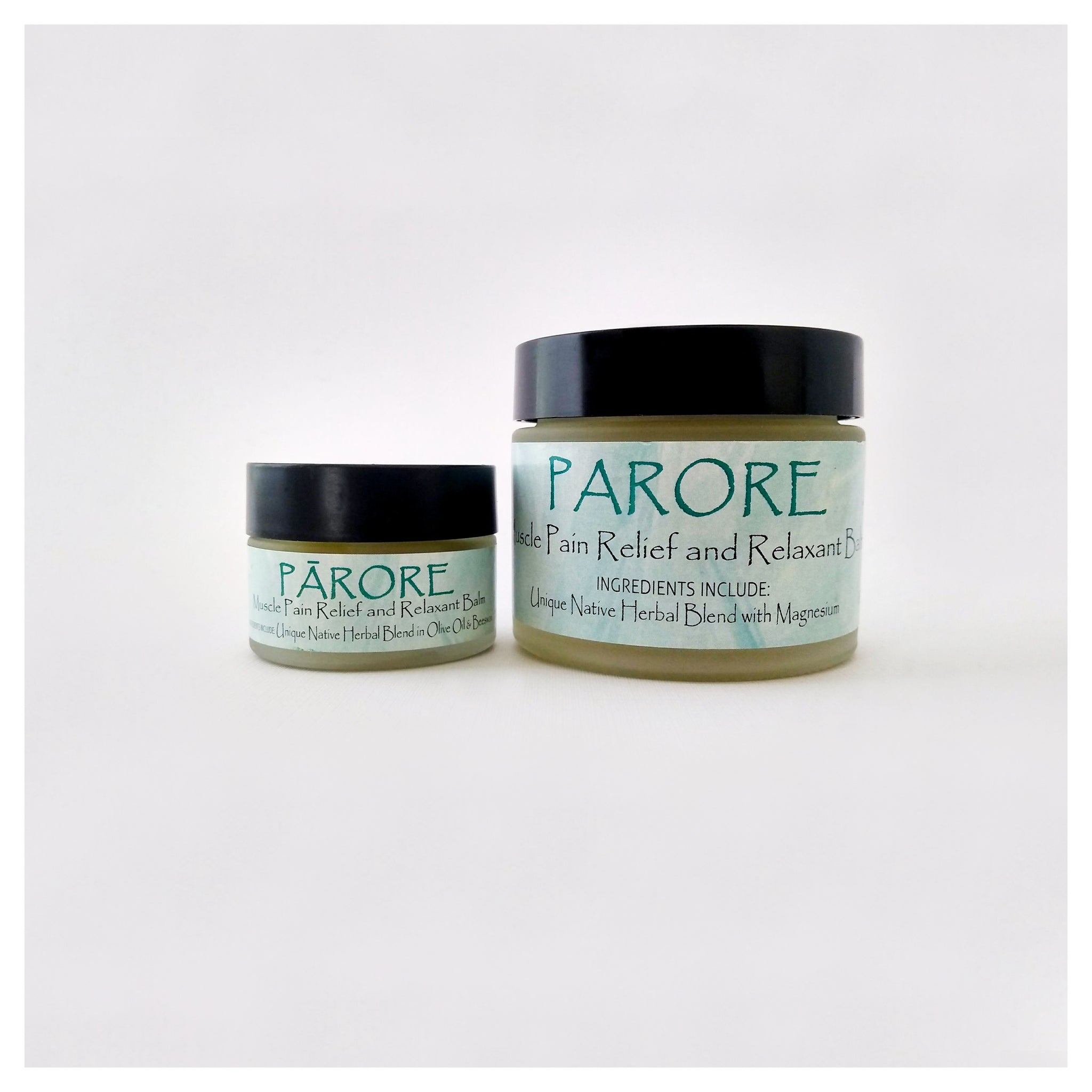 Natural Pain Balm - Pārore (muscle relief and relaxant)